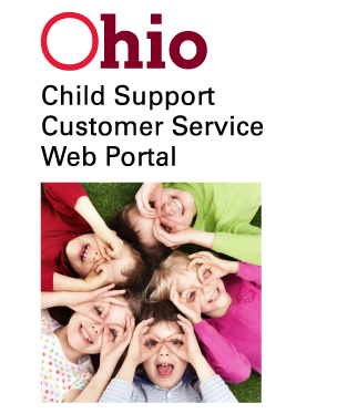 Ohio Office of Child Support Customer Service Portal Banner Image
