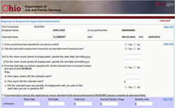 ODJFS Online | Office of Unemployment Insurance Operations